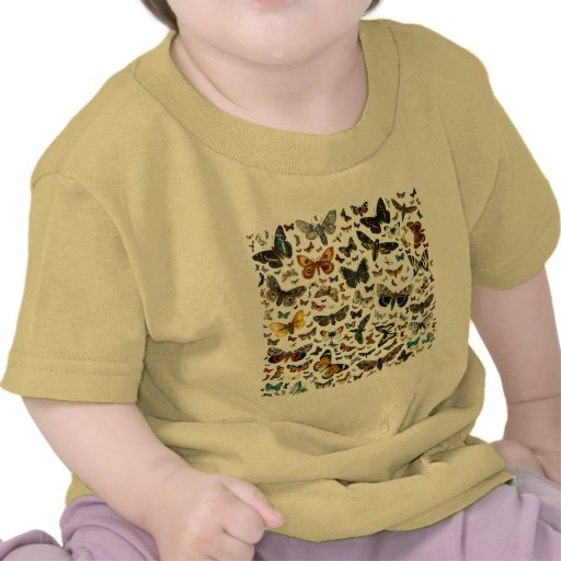 Butterfly Collage Shirts