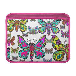 Butterfly Collage Sleeve For MacBook Air
