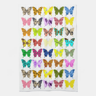 Butterfly Collage Towels
