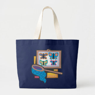 Butterfly Collecting Large Tote Bag