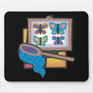Butterfly Collecting Mouse Pad