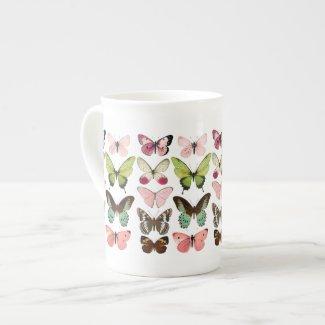 Butterfly Collection Bone China Mug