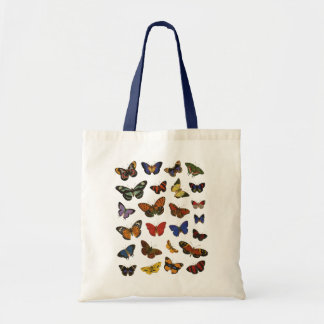 Butterfly Collection Budget Tote Bag