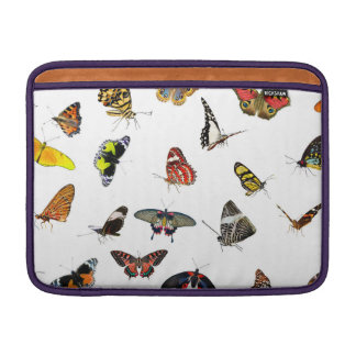Butterfly Collection Collage MacBook Air Sleeve