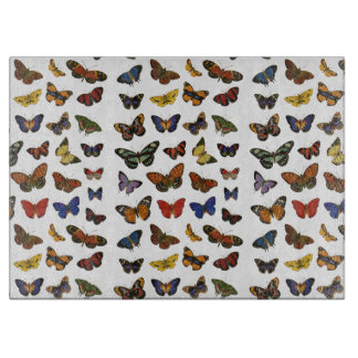 Butterfly collection cutting board