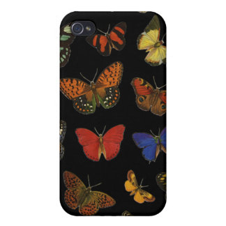 Butterfly collection iPhone 4/4S cover