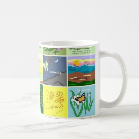 butterfly collection mug #2