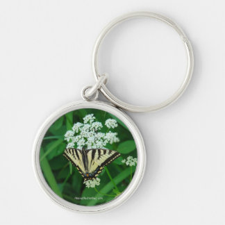 Butterfly Collection Premium Round Key Chain