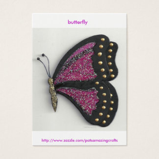butterfly collection series id 10013, butterfly... business card