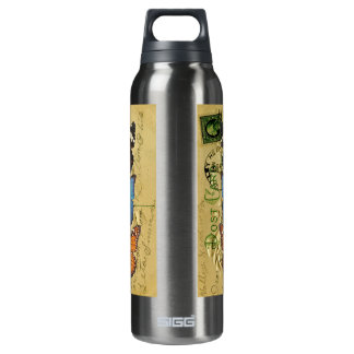 Butterfly collection 16 oz insulated SIGG thermos water bottle