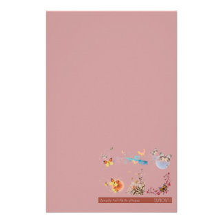 Butterfly Collection Stationery