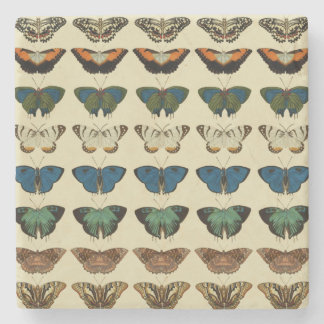 Butterfly Collection Stone Coaster