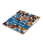 Butterfly collection tile