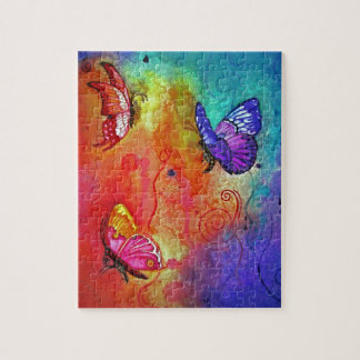 Butterfly Color Blast Jigsaw Puzzle