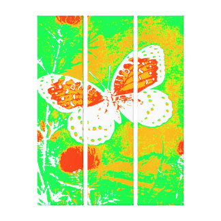Butterfly - Colorful Stretched Canvas Print
