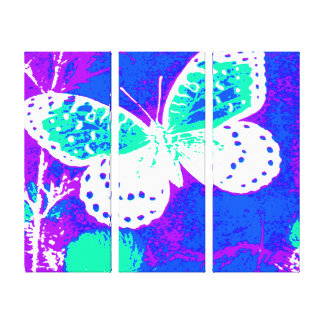Butterfly - Colorful Gallery Wrapped Canvas