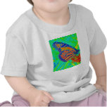 Butterfly colorized pretty photograph graphic shirt