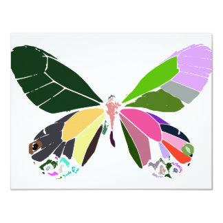 butterfly colors invite
