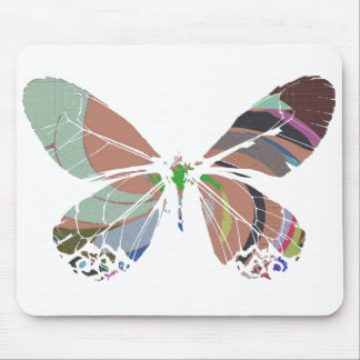 butterfly colors mouse pad