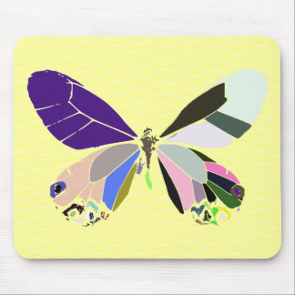 butterfly colors mouse pads