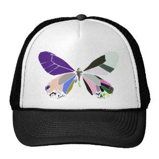 butterfly colors trucker hat