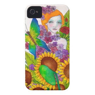 Butterfly colour iphone case