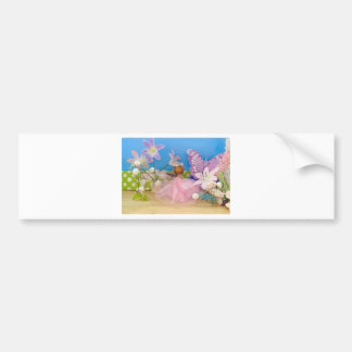 butterfly comes to call.jpg bumper sticker