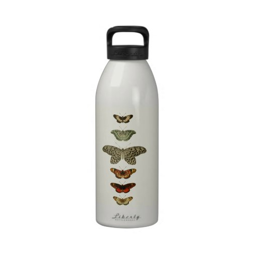 Butterfly Compilation Water Bottle