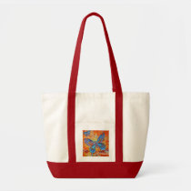 butterfly, butterflies, abstract art, colorful, tote, bag, insect, nature, painting, Bag with custom graphic design