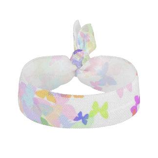butterfly confetti hair tie