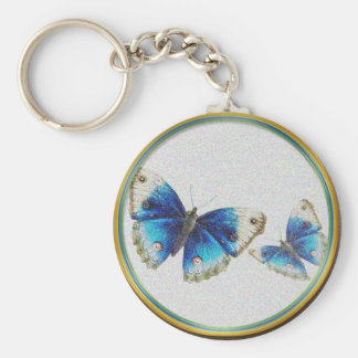 Butterfly Couple Keychain