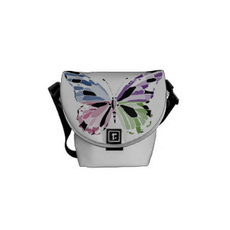 butterfly courier bag