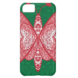 Butterfly Cover For iPhone 5C