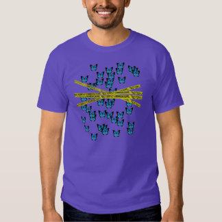 butterfly crime scene shirt