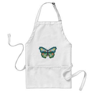 Butterfly Cross Stitch Adult Apron