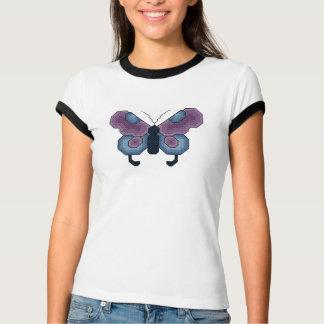 Butterfly Cross Stitch T-Shirt