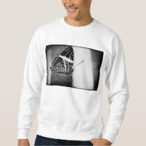 butterfly crossing sweatshirt
