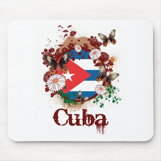 Butterfly Cuba Mouse Pad