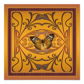 Butterfly Custom Wedding Anniversary Party Invitat Card