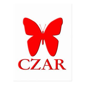Butterfly Czar Postcard
