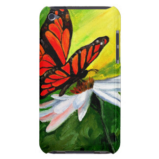 Butterfly & Daisy Painting iPod Touch Case