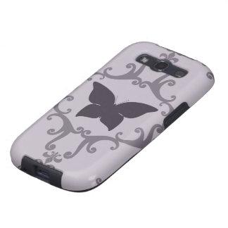 Butterfly Damask Samsung Galaxy S Vibrant Case