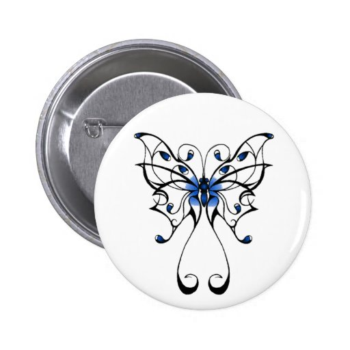 Butterfly Dance 2 Inch Round Button