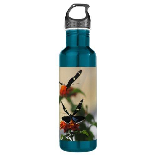 Butterfly Dance 3 Stainless Steel Water Bottle