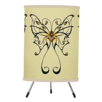 Butterfly Dance 4 Tripod Lamp