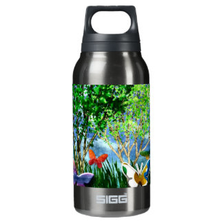 BUTTERFLY DANCE INSULATED WATER BOTTLE