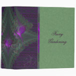 Butterfly Dance of Love Abstract Art 3 Ring Binders