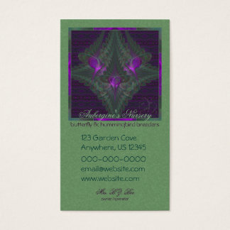 Butterfly Dance of Love Abstract Art Business Card