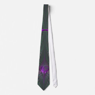 Butterfly Dance of Love Abstract Art Tie