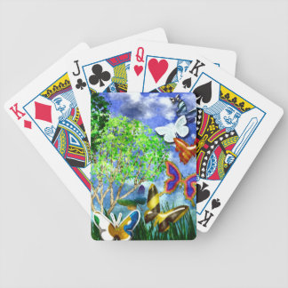 BUTTERFLY DANCE BICYCLE PLAYING CARDS